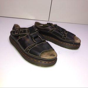 Dr. Martens Vintage Leather Ring Accent Sandals